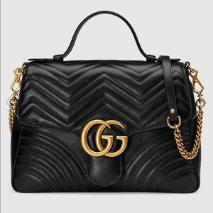 Gucci Marmot Medium Top Handle Bag